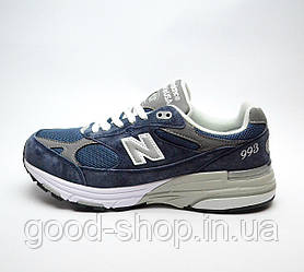 "Мужские кроссовки New Balance M993 Running / Walking Shoes ""Blue"""