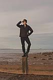 Сапоги резиновые мужские литые / Crocs Men's AllCast Rain Boot (204862), Черные, фото 10