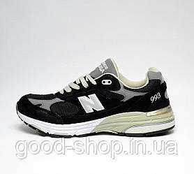 "Женские кроссовки New Balance M993 Running / Walking Shoes ""Black"" (люкс копия)"