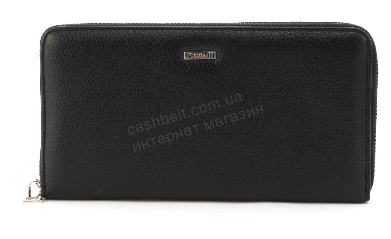 Мужской стильный практичный классическая портмоне барсетка PUкожи DAVIS art. 231черный