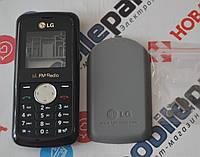 Корпус для телефона LG KP105 в сборе (Качество ААА) (Черный) Распродажа!