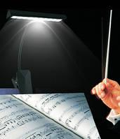 Подсветка для нот, пультов, пюпитров.., 10 LED