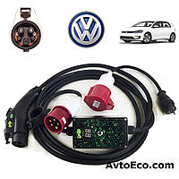 Зарядное устройство для электромобиля Volkswagen e-GOLF AutoEco J1772-32A-BOX, фото 1