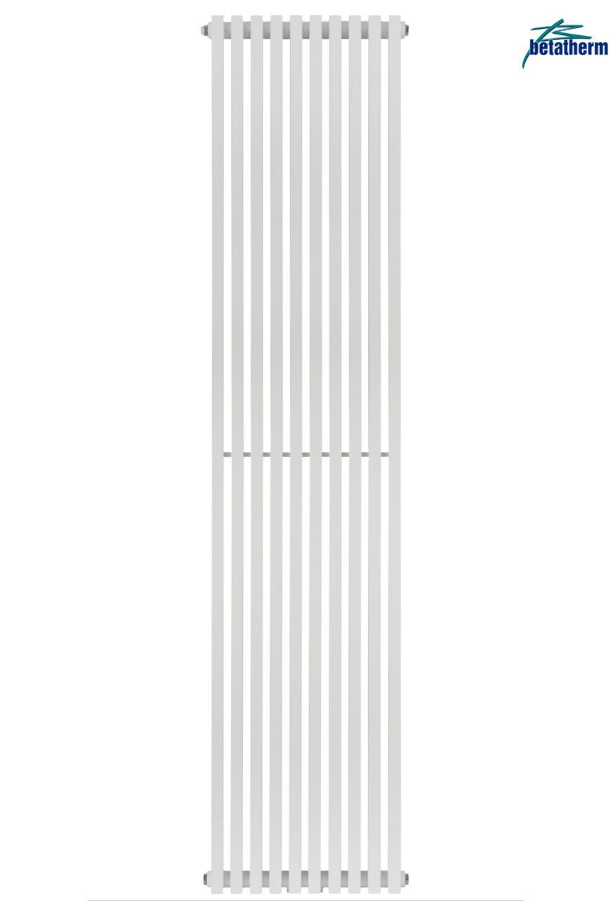 Вертикальный трубчатый радиатор BQ Quantum H-1800 мм, L-405 мм, фото 1