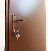 Технические металлические входные двери молотковая эмаль, фото 3