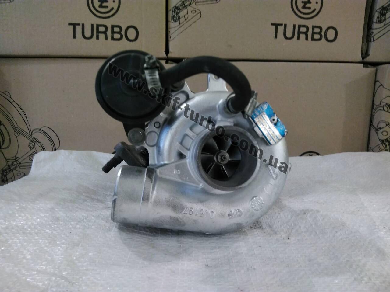 Восстановленный турбокомпрессор Fiat Ducato II 2.3 TD