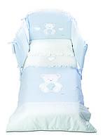 """Детский постельный комплектItalbaby """"Peluche Azzurro"""" 5 эл."""