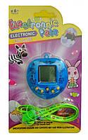 Тамагочи сердце blue - Любимая игрушка детства 168 персонажей в 1 тамагочи