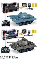 Танк PLAY SMART 9669/9670 на радиоуправлении, Боевой танк 9669/9670 на пульте стреляет пульками