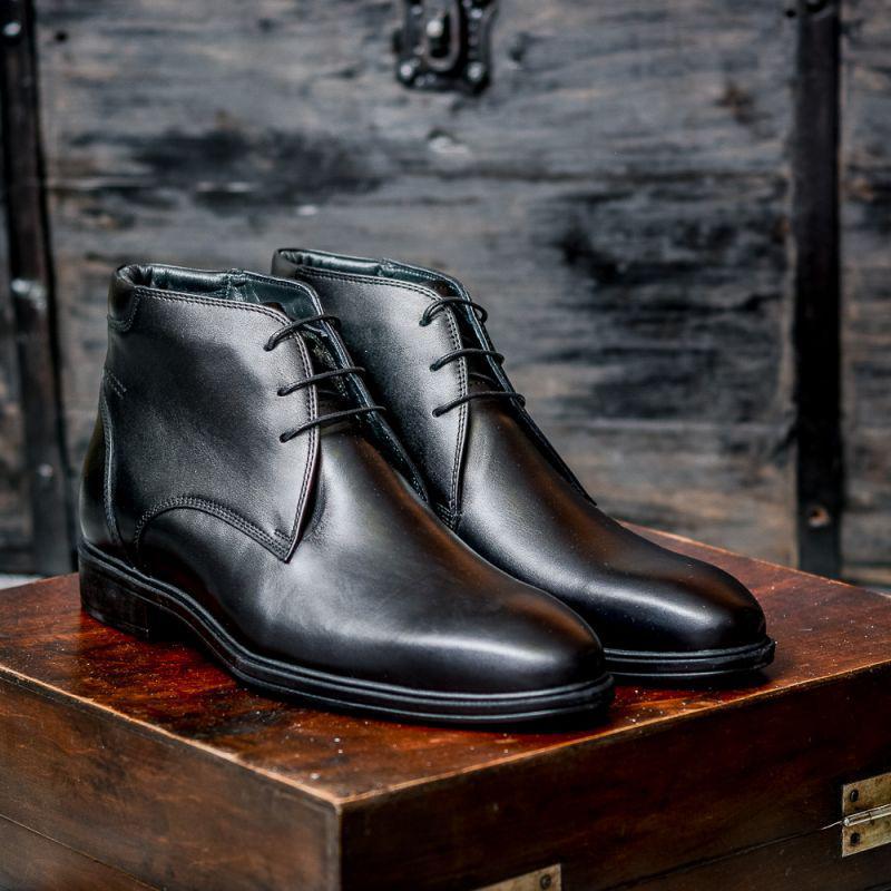 Ботинки кожаные m0035