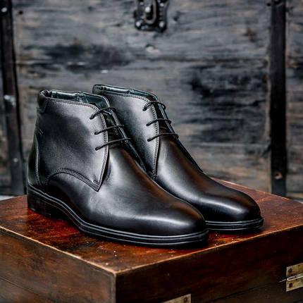 Ботинки кожаные m0035, фото 2