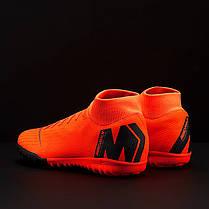Сороконожки Nike MercurialX SuperflyX 6 Academy TF AH7370-810 (Оригинал), фото 2
