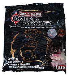 """Тесто """"Смерть грызунам"""" с ароматом сыра (красный) 230 гр"""