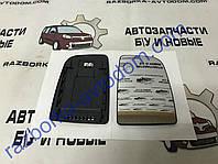 Вкладыш зеркала правый (с подогревом) квадратное крепление  Mercedes Sprinter/VW Сrafter (06>)