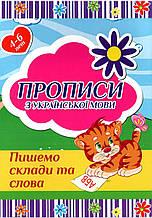 """Прописи """"По русскому языку"""""""" Пишем слоги и слова"""