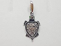 Серебряная подвеска Черепашка. Артикул 3505, фото 1