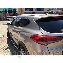 Боковые пороги Hyundai Tucson 2015