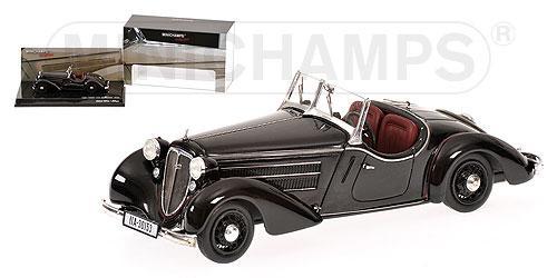 AUDI FRONT 225 ROADSTER - 1935 - BLACK L.E. 1008 pcs. 1/43 MINICHAMPS 437019131
