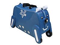 Детский чемодан-каталка  на 4-х колесах Vclub 333