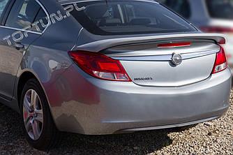 Спойлер на багажник Opel Insignia (пластик)