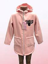 Демисезонное пальто для девочек с капюшоном (2003/6)