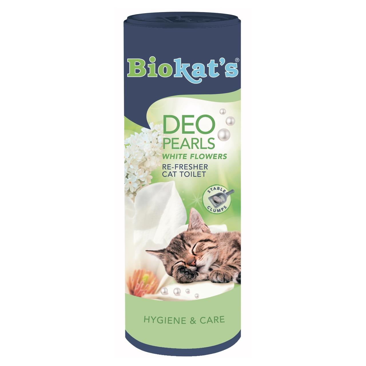 Biokat's (Биокетс) DEO Spring 700г (порошок)- дезодорант для кошачьего туалета (полевые цветы и утренняя роса)