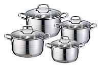 Набор посуды 8 пр.Wellberg WB-1153