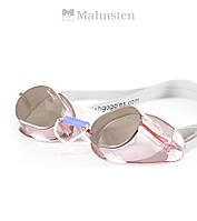 "Зеркальные очки ""шведки"" для плавания Malmsten Swedish Jewel Spinel (Pink), фото 1"