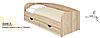 Детская кровать Соня-3 с ящиками для белья. Подростковая кровать, фото 4