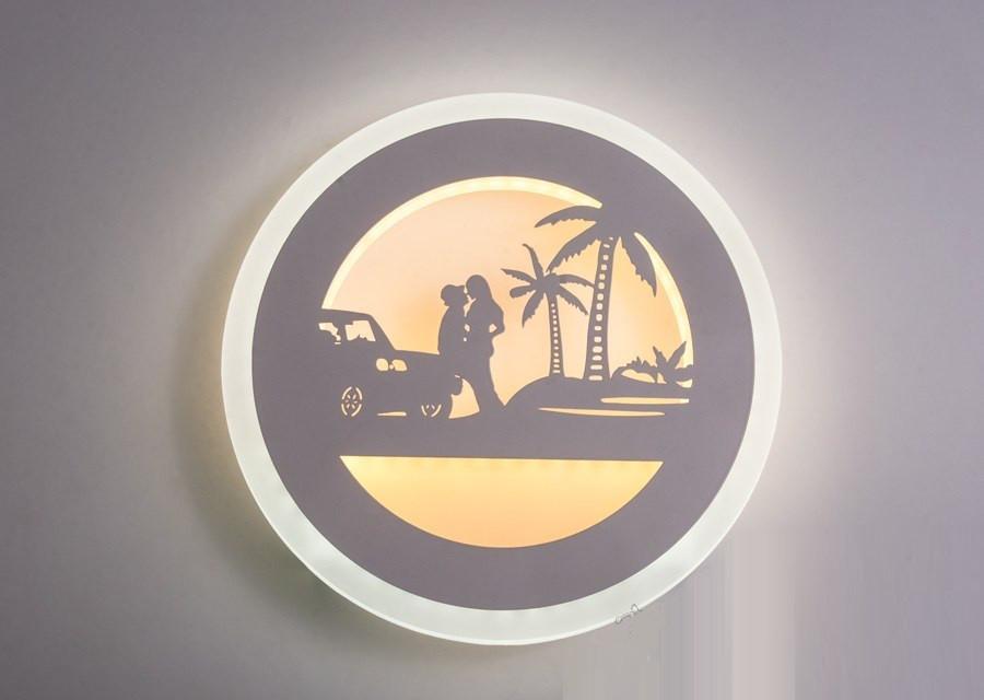 Настенный светодиодный светильник(бра) 821/220 White 18w