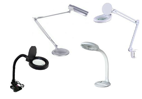 Лампы-лупы и настольные лампы купить
