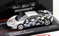 McLaren MP4-12C toy fair Nuernberg 2012. 1/43 MINICHAMPS 533133023