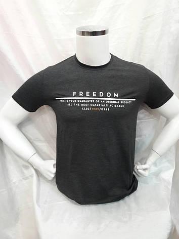 Футболка мужская Freedom, фото 2