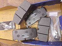 Дисковые тормозные колодки 29088 Man L2000, RVI Midlum с монтажным комплектом