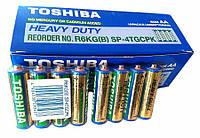 Батарейка Toshiba R6 АА (трей, 4/40/200)