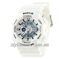 Часы наручные Casio Baby-G GA-110 White (реплика)