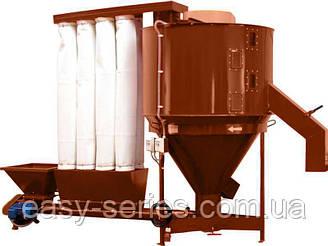 Смеситель вертикальный кормов СВ-1000 л, 3,0 кВт