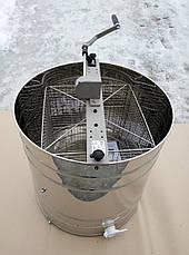 Медогонка 4 рамочная неповоротная  ручная LYSON ( Польша), фото 3