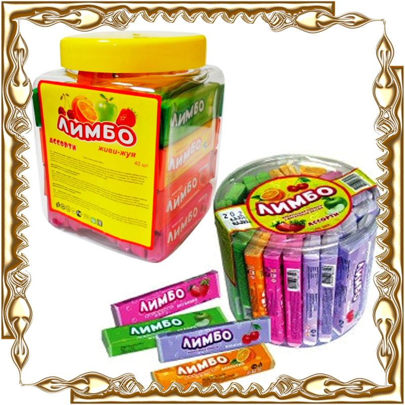 """Жевательная конфета """"Лимбо"""" 40 шт./уп."""
