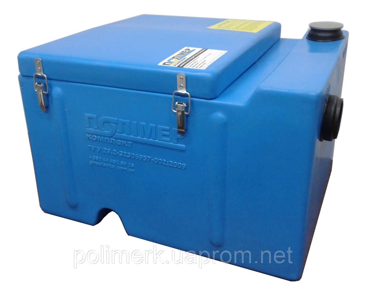 Жироуловитель (сепаратор жира) СЖ 0,5-0,06 Ф Оптима-60 (с фильтрами)