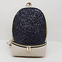 Рюкзак с блестяшками 30*23см