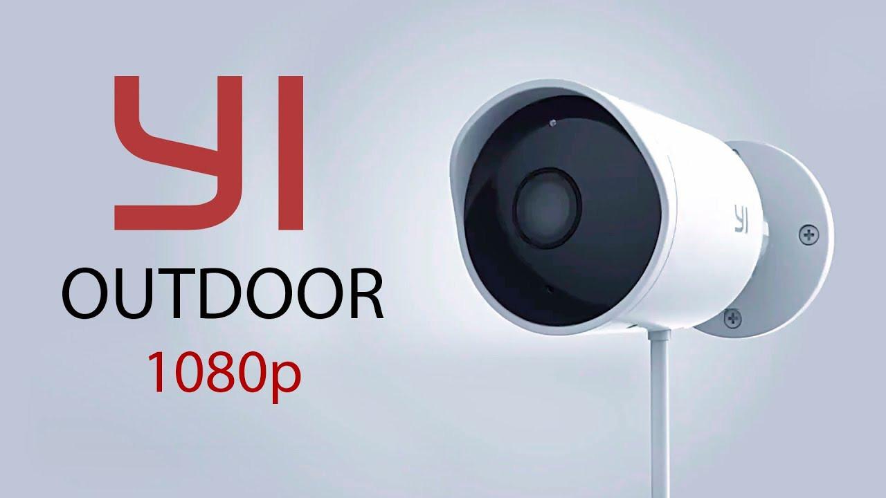 "Wi-Fi Yi Outdoor Smart Camera IP65/1080P/ ""Over-Stock"""