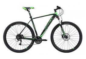 """Велосипед WINNER 29"""" EPIC 22"""" (18-024) черно-зеленый 2018"""