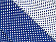 Сатин (хлопковая ткань) на синем  фоне белый горох, фото 3