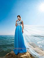Нежное выпускное платье в пол новинка, фото 1
