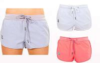 Шорты женские короткие для фитнеса VSX 6473 (женские спортивные шорты): размер S-L, 3 цвета, фото 1