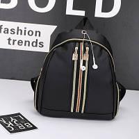 Женский вместительный рюкзак Fashion Trend черный , фото 1