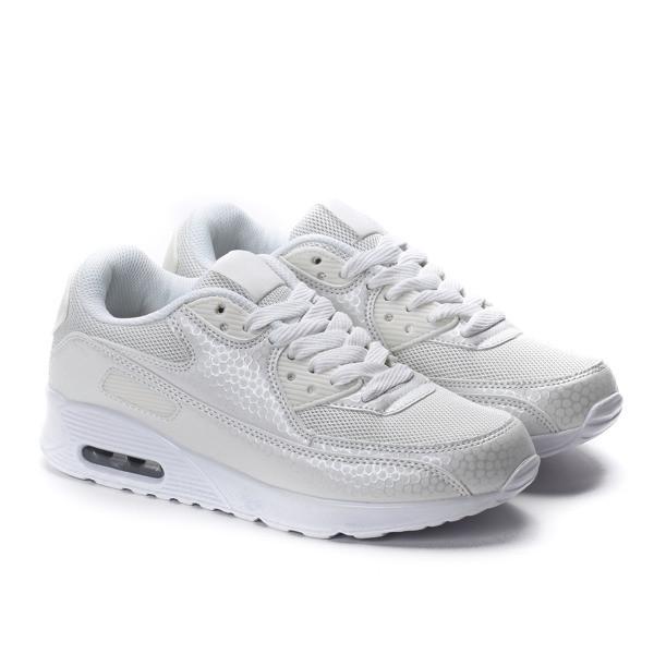 Польские кроссовки женские, белого цвета по супер цене