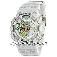 Часы наручные Casio G-Shock AAA GA-110 Arrows White-Gray