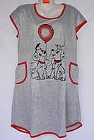 Женская котоновая ночная рубашка оптом со склада в Одессе.